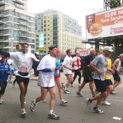 Marathons and Charity Run